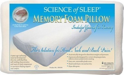 Contoured Memory Foam Pillow * Back & Neck Therapy * Cervical Pillows * 2040D | Durable Medical Equipment | Scoop.it