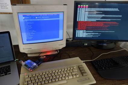 Vidéo : il développe un client Slack pour Commodore 64   Raspberry pi   Scoop.it