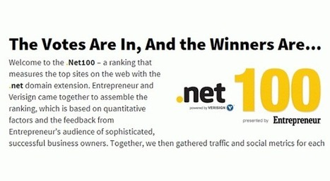 Entrepreneurs Share Their Favorite Sites In New .Net 100 Rankings | Futurism, Ideas, Leadership in Business | Scoop.it