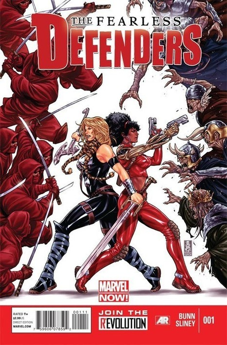 Women At War: Marvel Announces New All-Female 'Fearless Defenders' Book | Comic Books | Scoop.it
