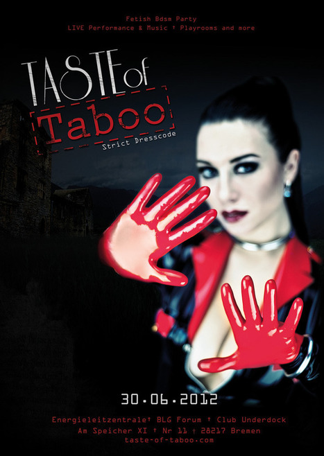 Taste of Taboo – Fetish Party Announced | LFN - latex fetish news | Scoop.it