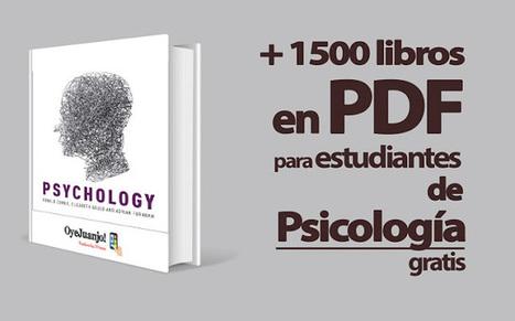 Más de 1500 libros en PDF para estudiantes de Psicología (Gratis) | Philosophie.com | Scoop.it