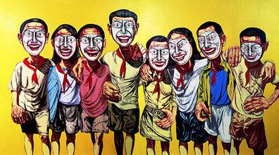 Zeng Fanzhi, le cru et le cuit - Les blogs du Diplo | Arts & Co | Scoop.it