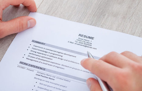 5 Steps to Creating a Nearly 'Perfect' Resume - US News | Felixnet | Scoop.it
