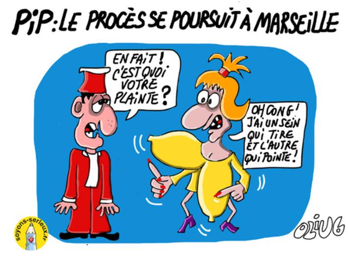 PIP: Le procès se poursuit à Marseille | Baie d'humour | Scoop.it