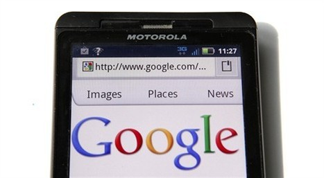 Google contre Apple: la bataille des smartphones !   SocialWebBusiness   Scoop.it