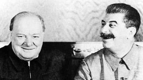Le buffet bien arrosé de Staline et de Churchill | Enseigner l'histoire-géographie en 3ème | Scoop.it