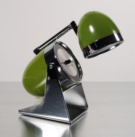Midcentury Mod Bullet Lamp | Antiques & Vintage Collectibles | Scoop.it