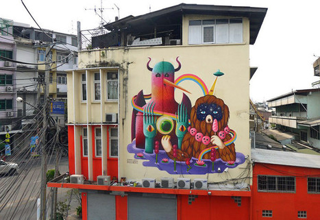 Bangkok's Emerging Street Art Scene | World of Street & Outdoor Arts | Scoop.it