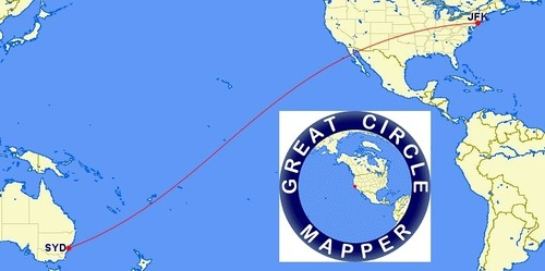 Great Circle Mapper – GEOGRAPHY EDUCATION