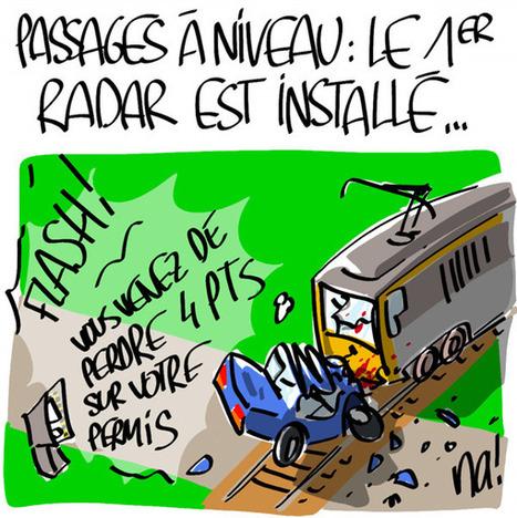Passages à niveau, le premier radar est installé… | CRAKKS | Scoop.it