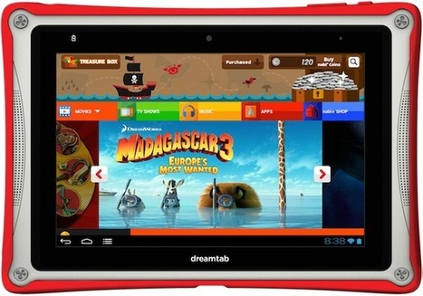 DreamWorks Animation to Release Its Own Tablet: The DreamTab - TheWrap | Must Read articles: Apps and eBooks for kids | Scoop.it