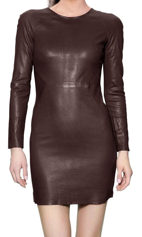 Leather Summer dress for the summer parties | Leather69.com -  Custom made leather cloth for men and women - | Scoop.it