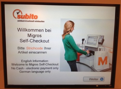 Self-service Swiss supermarkets | Diccon Bewes | Supermarket Automation - 1012ICT - Communications for ICT | Scoop.it
