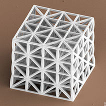 Scientists 3D Print Lightweight Material Stronger than Steel - 3D Printing Industry | Additive Manufacturing or 3D Printing | Scoop.it