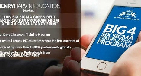 KPMG Six Sigma Green Belt Training & Certification Program 2015 Noida – Delhi NCR |  KPMG - Noida | ShowInCity | Lean Six Sigma Green Belt | Scoop.it