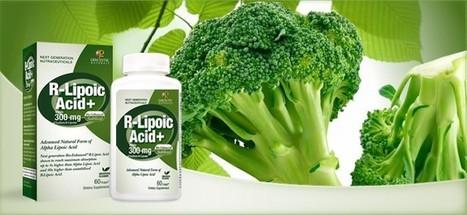 Bio-Enhanced® Natural R-Lipoic Acid 300mg | HolisticGreen | Scoop.it