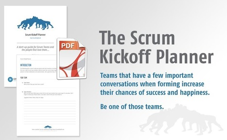 The Scrum Kickoff Planner - Weisbart.com | Agile for Web Project Managers | Scoop.it