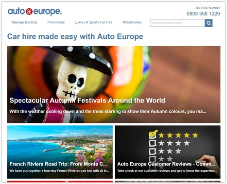 Auto Europe | Showcase of custom topics | Scoop.it