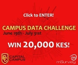 Data challenge launched for varsity and college students | Capital Campus | Kenya School Report - 21st Century Learning and Teaching | Scoop.it