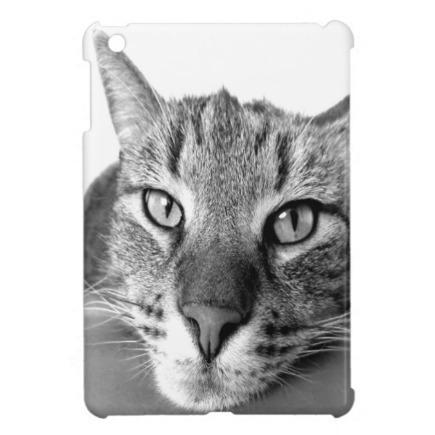 Grey Cat iPad mini cases   Adriane Designs   Scoop.it