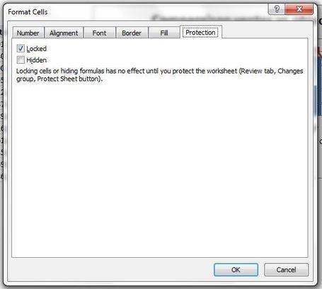 Truc Excel: Protégez vos données | MSExcel | Scoop.it