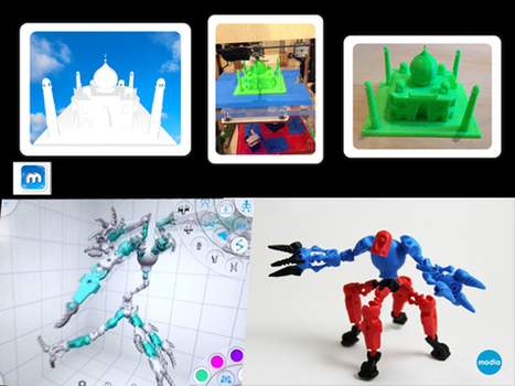 Applications de modélisation 3D pour tablette | | FabLab - DIY - 3D printing- Maker | Scoop.it