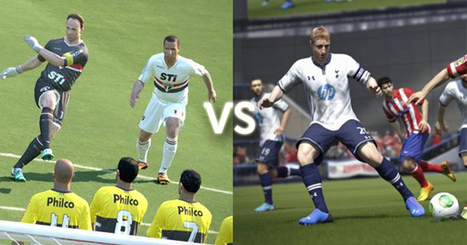 FIFA 14 vs PES 2014: a midfield clash | Culture traits. | Scoop.it