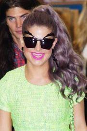 Las graciosas gafas de Kelly Osbourne | opticas | Scoop.it