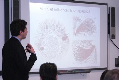 La cartographie appliquée à l'intelligence économique, initiation à Gephi et mise en pratique - AEGE.fr | LaLIST Veille Inist-CNRS | Scoop.it