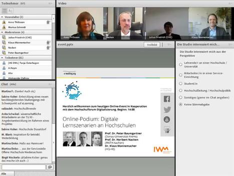 Zur Diskussion: Digitale Lernszenarien an Hochschulen — e-teaching.org | Zentrum für multimediales Lehren und Lernen (LLZ) | Scoop.it
