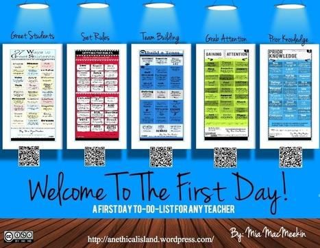 first day of class | (ver)ander onderwijs | Scoop.it