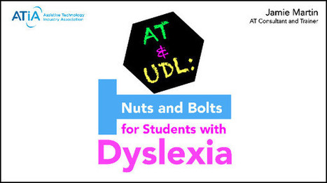 Assistive Tech webinar on March 23rd w/ @ATDyslexia @lawrenceschool  @cdcowen  | Students with dyslexia & ADHD in independent and public schools | Scoop.it
