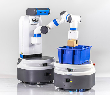 Fetch Robotics Introduces Fetch and Freight: Your Warehouse Is Now Automated - IEEE Spectrum | The Robot Times | Scoop.it