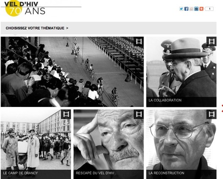 Web-reportage : Vel d'Hiv - 70 ans | Vel d'Hiv - 70 ans | ARTE Journal | Comprendre le monde | fr - ARTE | Interactive & Immersive Journalism | Scoop.it