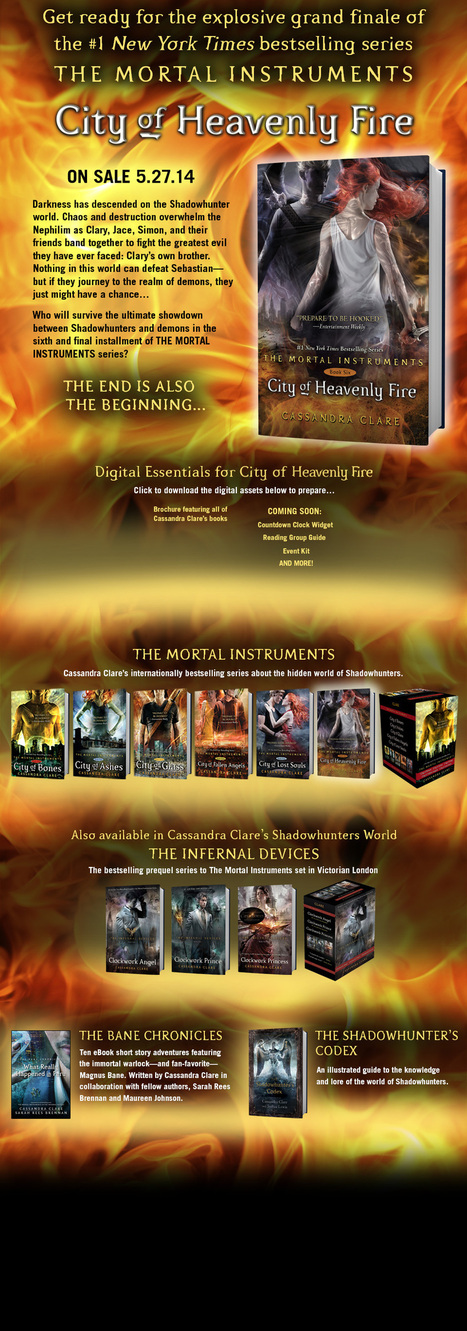 City of Heavenly Fire | Young adult books | Scoop.it