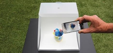 Lightcase : un concept de studio photo mobile pour prendre des photos professionnelles avec votre smartphone | e-commerce | Scoop.it