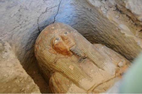 Descubren la tumba de un sacerdote de Amón-Ra en Luxor | ArqueoNet | Scoop.it