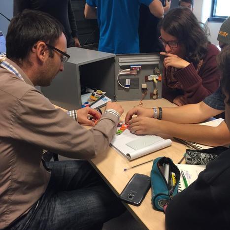 Le défi de la boite aux lettres avec the Airboard/littlebits#XPA15   Innovaders   Scoop.it