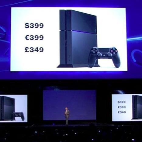 PS4 Will Cost $399 — Undercuts Xbox One by $100 | Screen Freak | Scoop.it