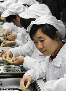 Apple: Poor working conditions inside the Chinese factories making iPads | green geo 160 | Scoop.it