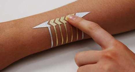 Un tatouage tactile pour contrôler à distance les objets connectés   Dernières innovations technologiques   Scoop.it