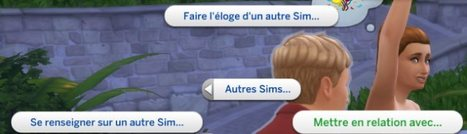 Les Sims 4 Vivre Ensemble : Influencer les relations entre vos Sims « Pensée sur The Daily Sims | Les Sims | Scoop.it