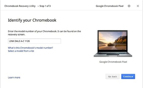 An Easy Way to Restore and Back-up Your Chromebook Data ~ Educational Technology and Mobile Learning | Edtech PK-12 | Scoop.it