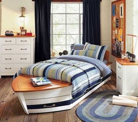 21 Nautical Inspired Spaces For Your Summer Season | Designing Interiors | Scoop.it