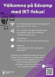 Edcamp IKT på Södermalmsskolan   Edcamp Sverige   Digital kompetens   Scoop.it