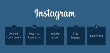 5 Instagram Tips for Beginners | Social Media e Innovación Tecnológica | Scoop.it