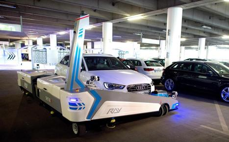 Robot valet to park cars at German airport | Robotic applications | Scoop.it