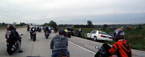 What happens when a swarm of stunt motorcyclists meets a police ... | Motorcycle | Scoop.it