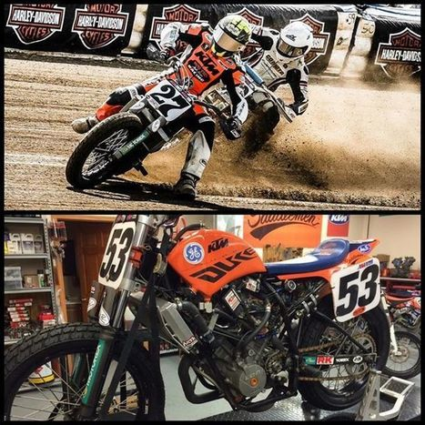AMA Pro Flat Track's Facebook Wall: Waters Autobody announced they'll be fielding a two-rider team on KTM Twins at the Charlotte Half-mile this weekend: #27 Rob Pearson, who's appealing his one-rac... | California Flat Track Association (CFTA) | Scoop.it